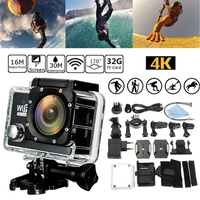 2 Inch HD 1080P Action Sport Camera Set SJ7000/SJ7000K 16MP Wifi 30M Underwater Waterproof DV Record
