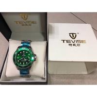特威斯綠水鬼手錶