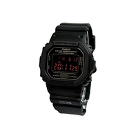 [Casio] CASIO G-SHOCK G shock MAT BLACK RED EYE DW-5600MS-1DR Black Watch [reimportation]