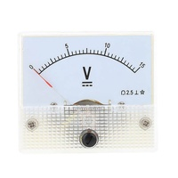 Miracle Shining 85C1 DC 0-15V Analog Volt Testing Meter Voltmeter Voltage Panel Gauge Tool