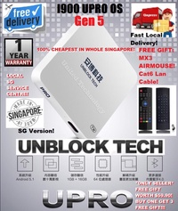 【SG Version】TV Box Authorised Seller Local warranty support New Arrival Original Gen 5/ UPRO Upgraded