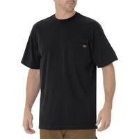 【DICKIES】WS450 重磅 素面 口袋Logo 短T (黑BK) 化學原宿