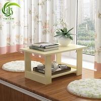 【京歐】創意飄窗電腦桌簡易客廳茶幾陽臺矮書桌窗臺日式榻榻米矮桌炕桌小