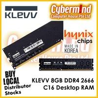 (PROMO) KLEVV 8GB DDR4 2666Mhz CL16 Desktop RAM (Long DIMM / 1.2V)