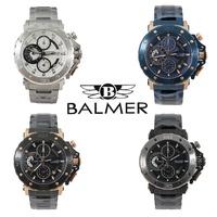 BALMER 賓馬 重量級馬王真三眼手錶(7975)