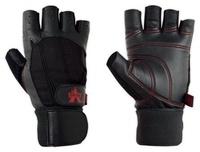 乳清麥克VALEO Ocelot Wrist Wrap( 專業真皮重訓半指手套-有護腕)