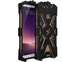 "Metal Aluminum Armor Protect Phone Cover Shell Case For Vivo V7 Plus / Vivo Y79 / Vivo V7Plus + 5.99 "" inch Case Cover(Silver) - intl"