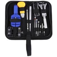 13pcs TM Watch Repair Tool Kit Set Watch Case Opener Link Spring Bar Remover Screwdriver Tweezer Wat