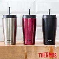 THERMOS 膳魔師 不鏽鋼真空吸管隨行瓶 650ML TS405 全新公司貨