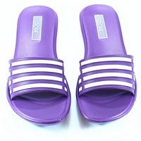 ☆麻吉鞋坊☆ 台灣製造360度c輕量防水止滑拖鞋(紫)(4-8)【3008】