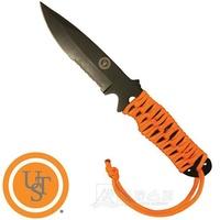 "UST PK不鏽鋼小刀4""4+耐燃火種繩 ParaKnife FS 4.0 求生刀 20-02232-08 綠野山房"