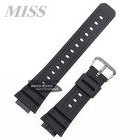 MISS·實拍  正品CASIO卡西歐錶帶GW-5000黑色樹脂膠帶日本產G/GW/DW-5600錶帶