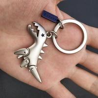 ◕✇✲Agnes B. Creative cute little dinosaur key pendant car keychain couple bag C