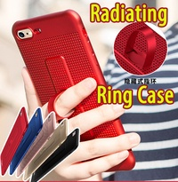 New arrival Radiating Creative ring case cover for iPhoneX 8 7 6 Plus OPPO R11 R9S Plus OPPO R9 S8