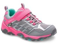 ├登山樂┤美國 MERRELL MOAB FST LOW A/C WATERPROOF 兒童多功能防水運動鞋-粉紅 # MLK159195