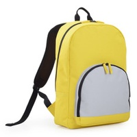 AGVA 15.6'' All-In-One Casual Backpack Yellow