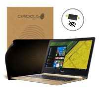 Celicious Privacy Acer Swift 7 2-Way Visual Black Out Screen Protector - intl