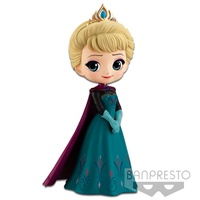 冰雪奇緣 Elsa 艾莎  日本正版 Qposket Coronation Style