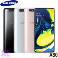 Samsung Galaxy A80 (8G/128G) 6.7吋三鏡頭智慧機-贈空壓殼+9H鋼保+韓版收納包+指環支架+奈米噴劑