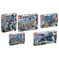 [樂高先生]LEGO 樂高 LEGO 76123、76124、76125、76126、76131 復仇者聯盟4 五盒一套