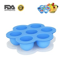 [HIMETSUYA] UNKNOWN - Silicone Egg Bites Molds for Instant Pot Accessories Fit for Instant Pot 5/6/8