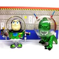 非7-11超商 玩具總動員 絕版限定 金屬色 抱抱龍 巴斯光年 Hot Toys Metallic Mini