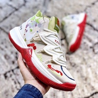NBA Kyrie Irving  歐文 厄文籃球鞋歐文5代籃球鞋新配色涂鴉奶油