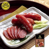 【野味食品】黑橋牌高粱酒香腸禮盒(高粱酒香腸)(真空包)(600g/包,一盒兩包)