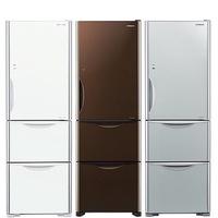 日立394公升變頻三門冰箱RG41B琉璃瓷