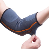 Breathable Elbow Support Basketball Football Sports Safety Volleyball Elbow Pad Elastic Elbow Supporter Knee Protect - intl