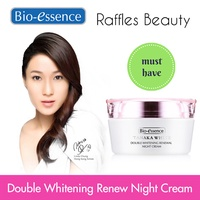 Bio Essence Tanaka White Double Whitening Renewal Night Cream / Whitening Clarifying Softener