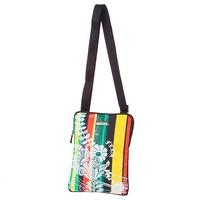 FILA休閒旅行亮彩花朵圖騰輕便小型側背包原價1480元