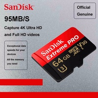 SanDisk Extreme PRO 128 GB MicroSD Memory Card Micro SD Card
