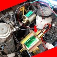 Universal Gasoline&Diesel Fuel Pump 12V ปั๊มติ๊ก ปั๊มเชื้อเพลิงน้ำมันแรงดัน สำหรับรถดีเซลและเบนซิน 12V