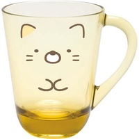 大賀屋 日本製 角落生物 貓咪 杯子 漱口杯 水杯 茶杯 兒童 防摔杯 幼兒 幼稚園 杯 SAN-X J00030493