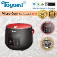 Toyomi RC 790 Micro-Com Rice Cooker 0.8L