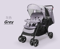 Seebaby front and back T33 Twin Stroller