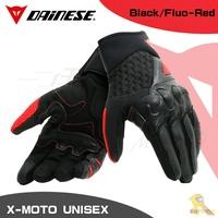 任我行騎士部品 DAINESE X-MOTO UNISEX 夏季 通風 觸控 短手套 防摔 丹尼斯 黑紅 XMOTO