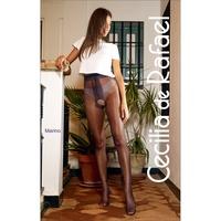 °☆就要襪☆°全新西班牙品牌 Cecilia de Rafael Vidrio A 性感開檔高光澤絲光絲襪(15DEN)