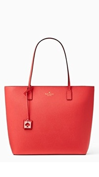 (Kate Spade New York) Kate Spade Abbey Street Karla Saffiano Leather Tote Shoulder Bag Purse Hand...