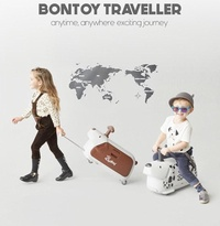 ★ BONTOY TRAVELER ★  Carrier / LUGGAGE BAG / TOY / TRAVEL / 100KG load