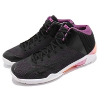 【asics 亞瑟士】籃球鞋 GELBURST 22 GE 男鞋 亞瑟士 緩衝 耐磨 運動 鞋身穩固 黑 紫(TBF34G9020)