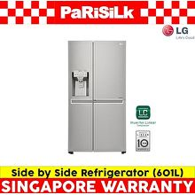 LG GS-L6012PZ 601L Side-by-Side Refrigerator