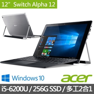 Acer  Switch Alpha  12吋平板筆電 (SA5-271P-574Y)
