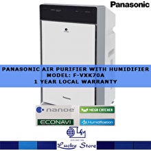 Panasonic F-VXK70A Air Purifier