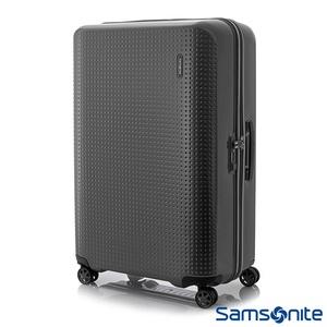 【Samsonite新秀麗】Pixelon圓弧立體圓點PC硬殼拉鍊行李箱(28吋/25吋/20吋)