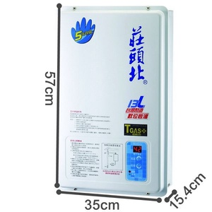 莊頭北13L數位電腦恆溫強制排氣型熱水器TH-7132FE