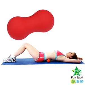 【Fun Sport】討喜花生米按摩球 台灣製造(花生球/激痛球/按摩器/握力球)