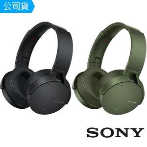 【SONY索尼】EXTRA BASS 無線降噪耳罩式藍牙耳機 MDR-XB950N1