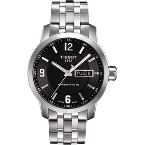 TISSOT天梭 PRC200系列時尚機械腕錶黑-39mm T0554301105700